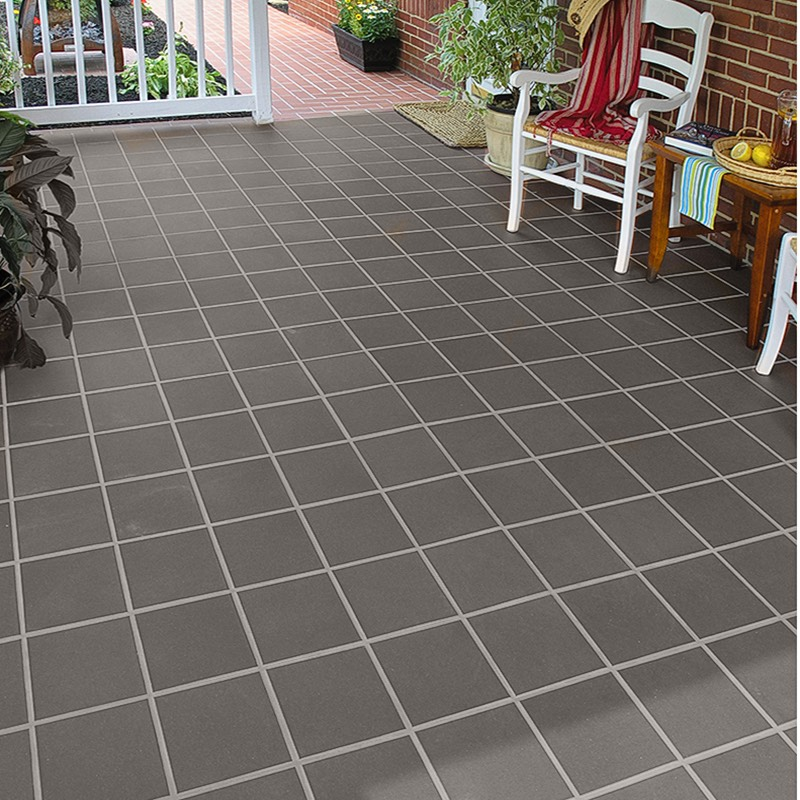 Austral Cool Grey Terracotta Stairnose Tile Western