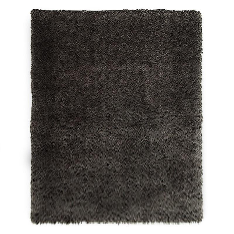 Bloom Black Grey Rug sample