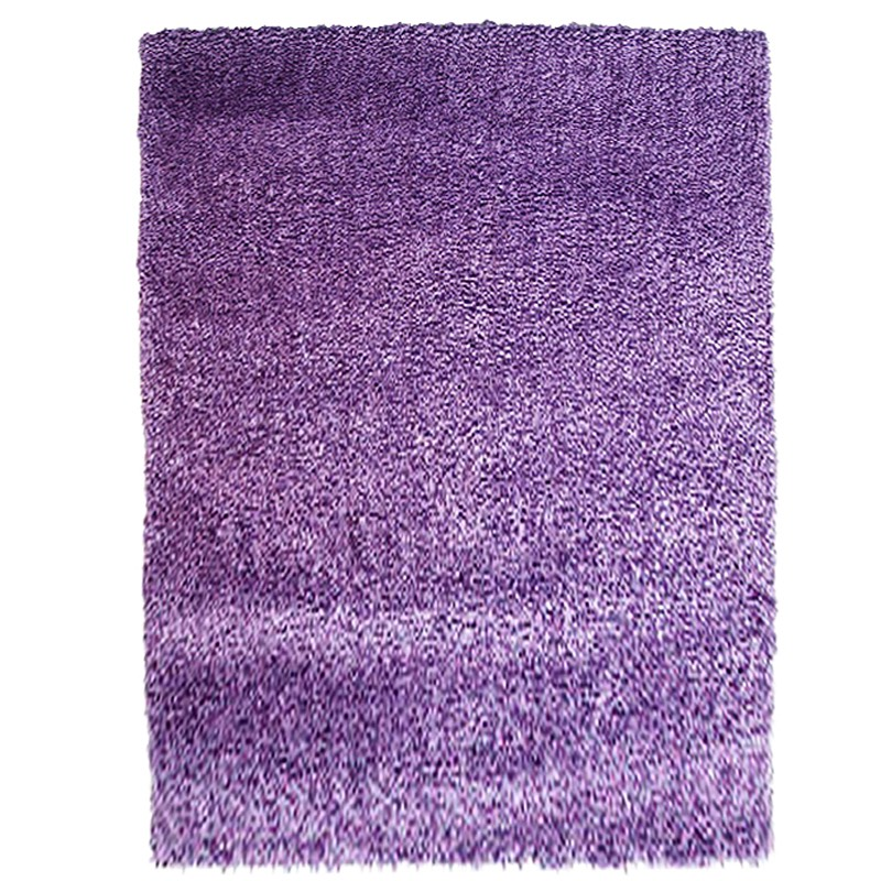 Bloom Purple Rug sample