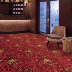 Feltex-Hospitality-Red Piazza Carpet