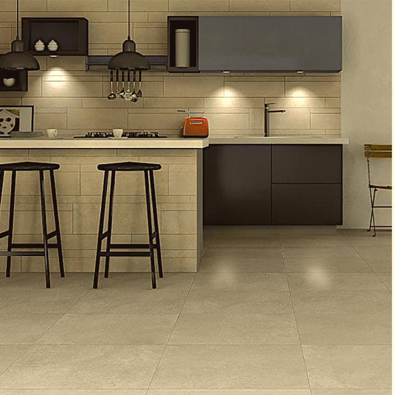 limestone beige porcelain tile