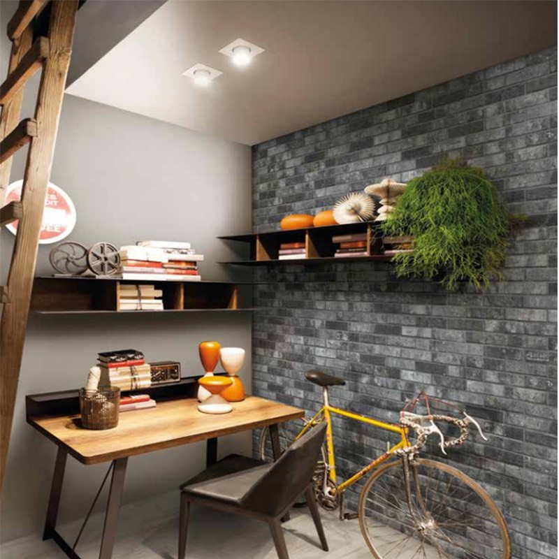 London Charcoal Brick Porcelain Tile Western Distributors