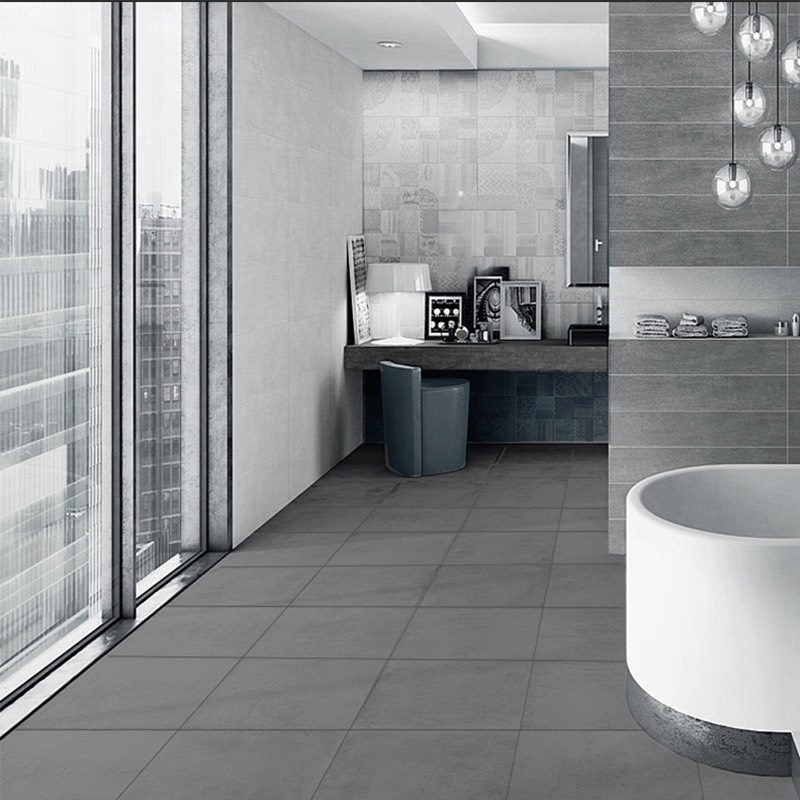 New York Grey Ceramic Tile Western Distributors