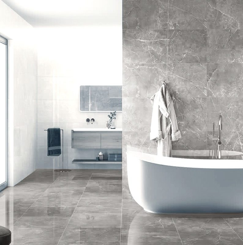 Ocean Pearl Polished Porcelain Tile Western Distributors