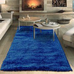 Plush Blue Rug
