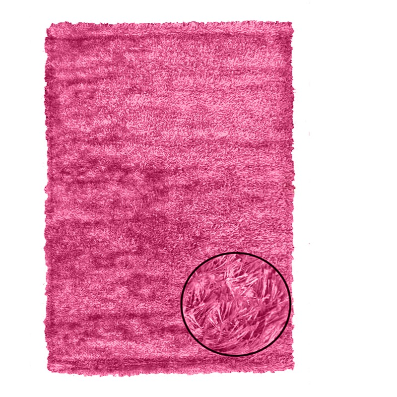 Plush Pink Rug sample