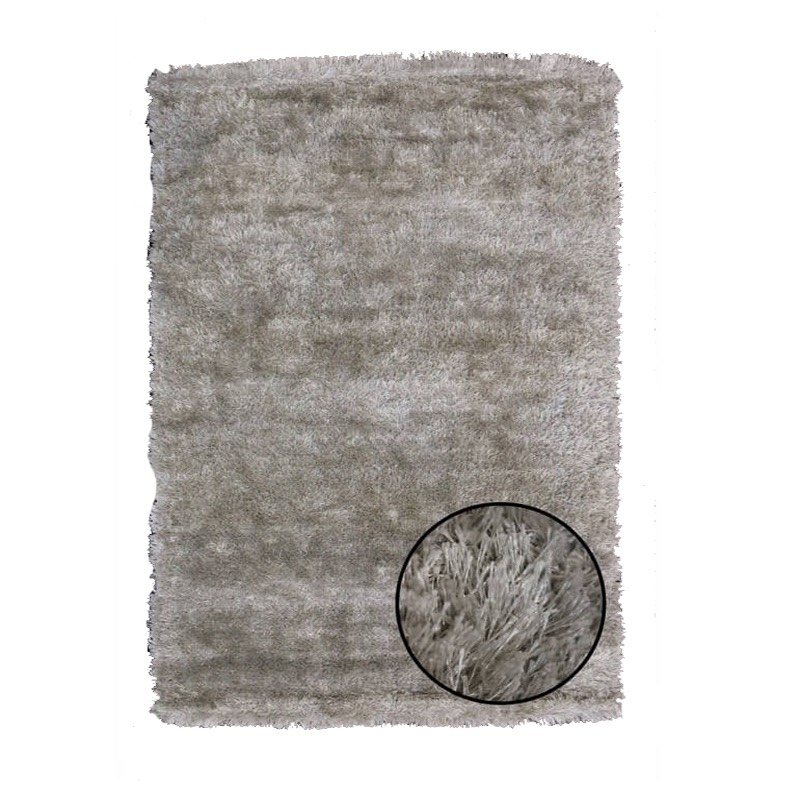 Plush Silver Rug sample