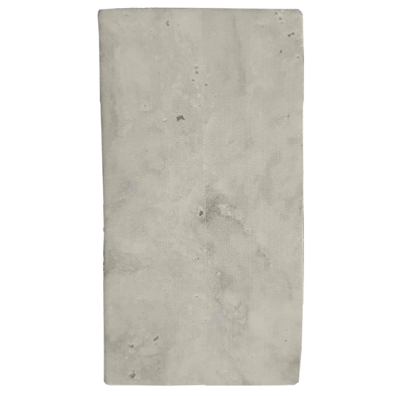Subway Beige Travertine Recycled Glass Tile sample