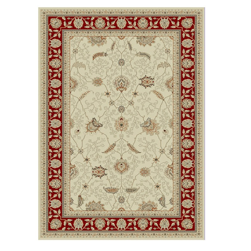 Tavarnelle 7210 Cream Red Rug sample