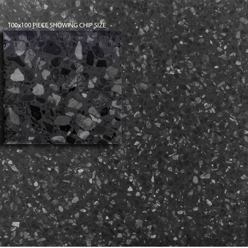 Terrazzo Millenium Honed Tile sample