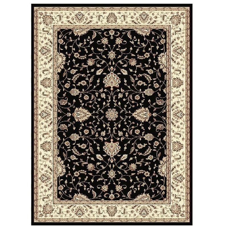 Verona 4821 Black Rug sample