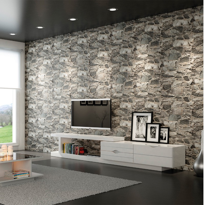 Create A Patchwork Feature Wall: Wallrock Gris Feature Wall Tile