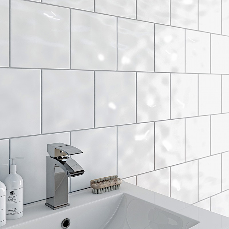 Grey Satin Subway Wall Tile Western Distributors