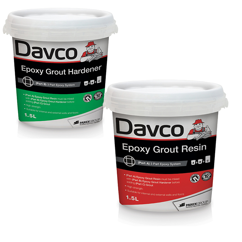 Davco Epoxy Grout Resin (Resin & Hardener)