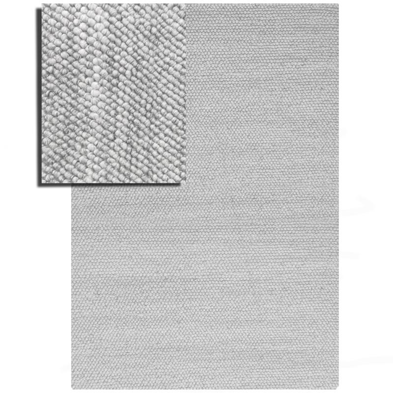 Loops-Slate Rug sample