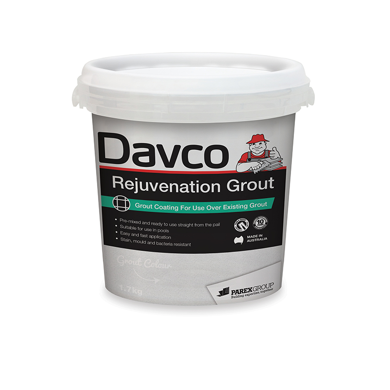 Davco Rejuvenation Grout Western Distributors - Can i grout over existing grout