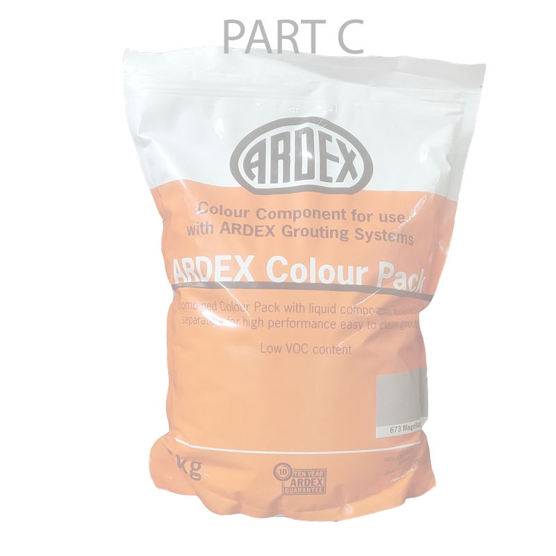Ardex EG-15  Epoxy Grout sample