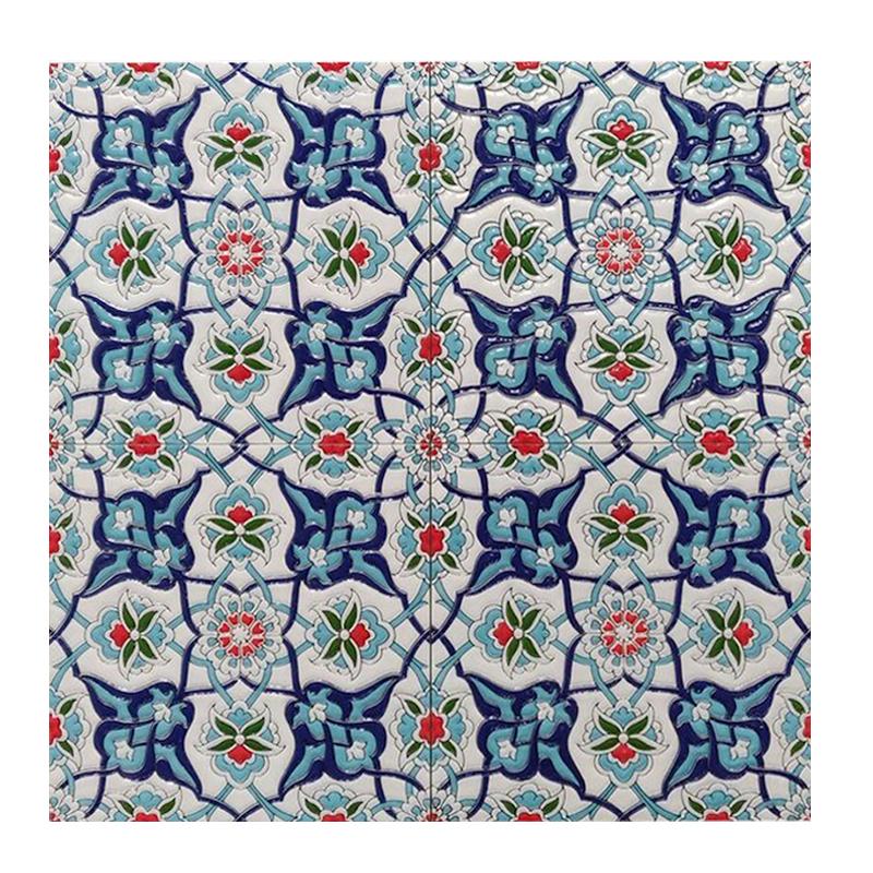 Morocco Turkish Blue Gloss Wall Tile Western Distributors