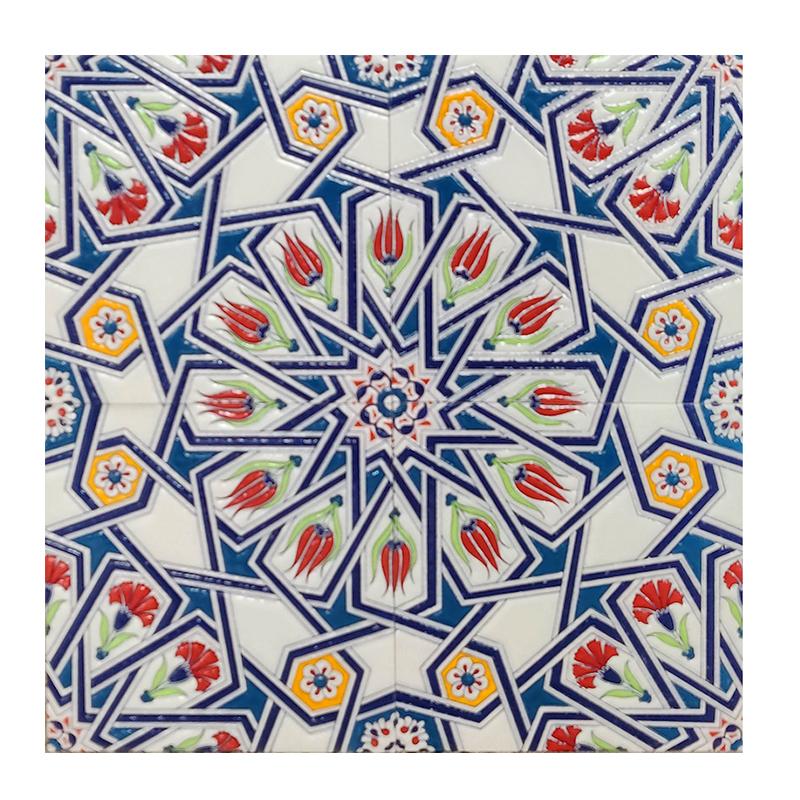 Morocco Iranian Jade Gloss Wall Tile sample