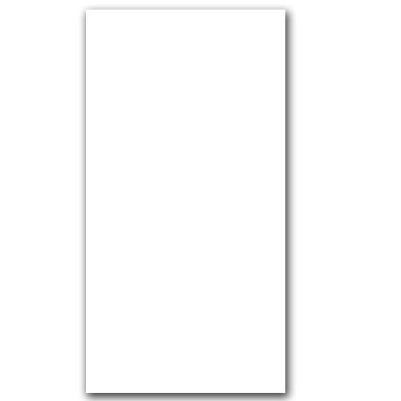 Matt White Rectified Wall Tile sample