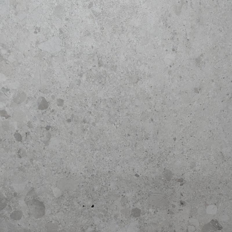 Terrazzo White Porcelain Tile sample