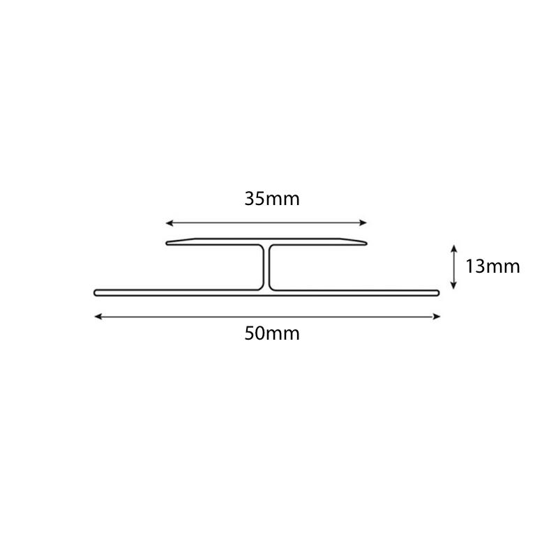 Expansion  13mm Cover Trim sample