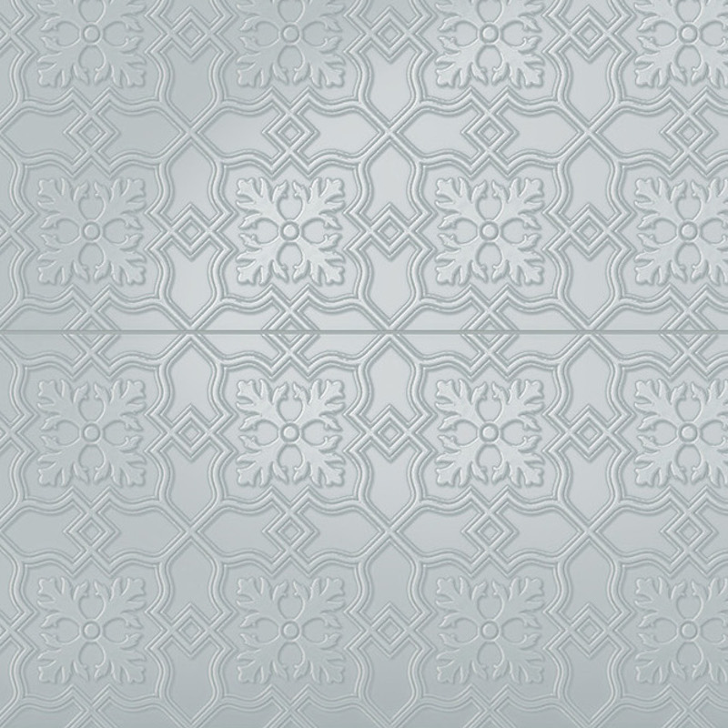 Infinity Hampton - Pressed Metal Design Tile sample