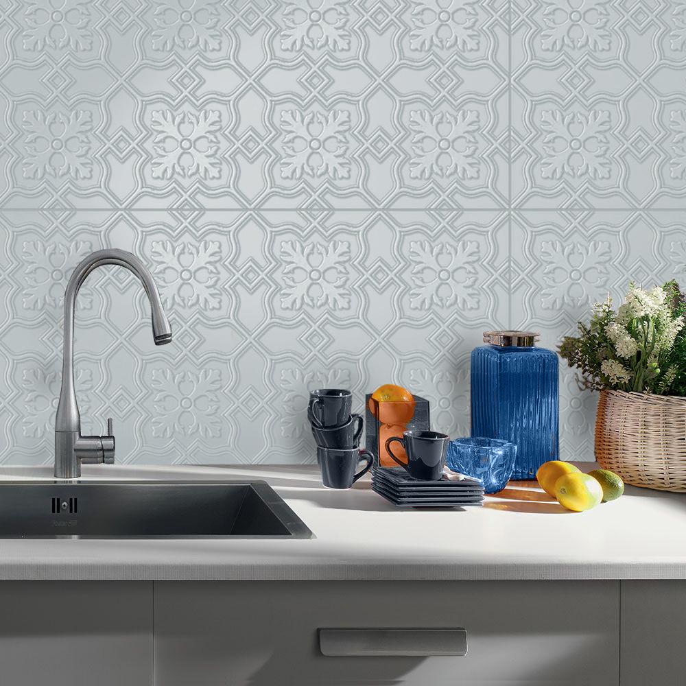 Infinity Hampton Pressed Metal Design Tile Western Distributors
