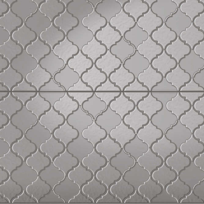 Infinity Arabella- Pressed Metal Design Tile sample