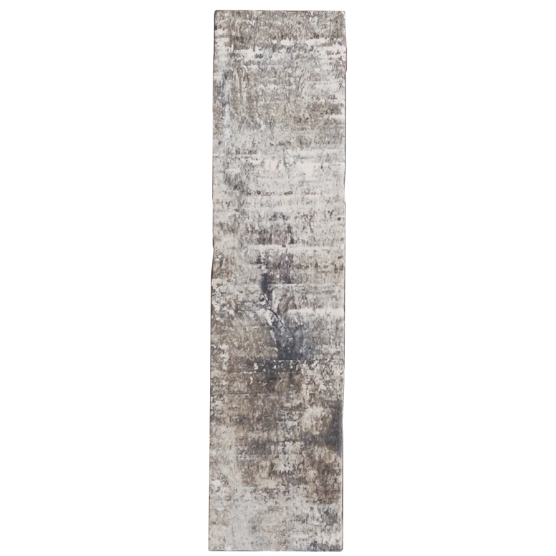 Colonial Wood Matt White Subway Tile sample