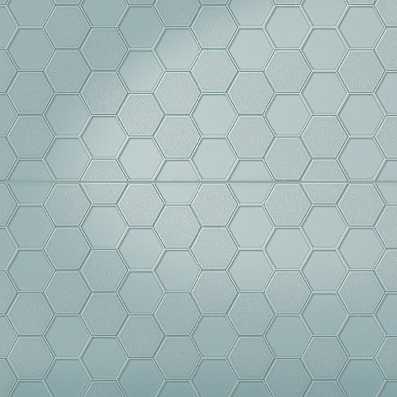 Infinity Geo - Pressed Metal Design Tile sample