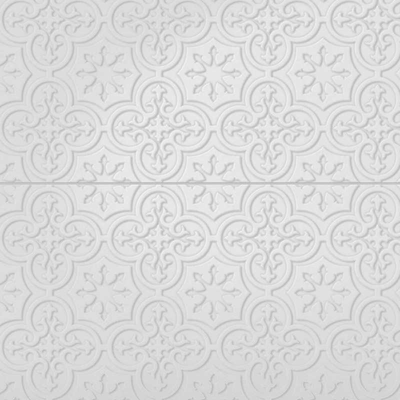 Infinity Medina - Pressed Metal Design Tile sample