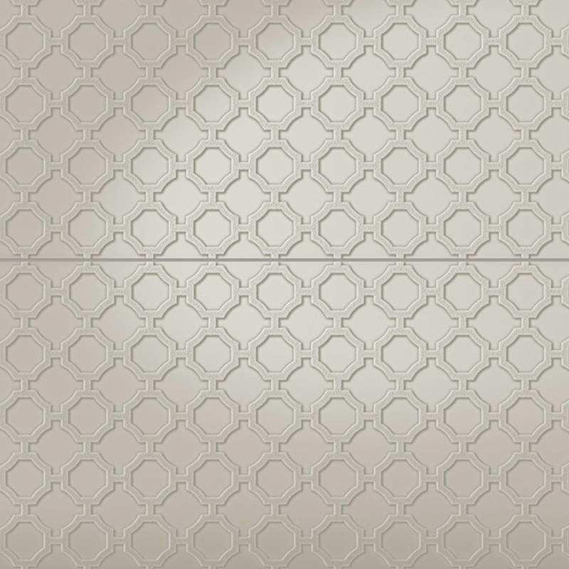 Infinity Melibu - Pressed Metal Design Tile sample
