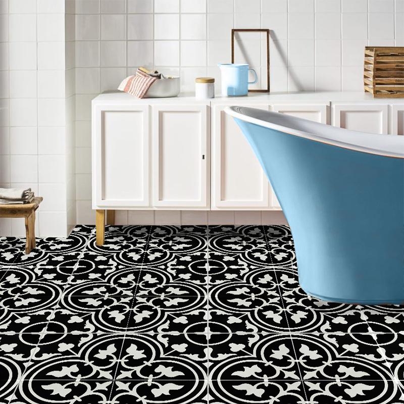 Two Key Flat Black Feature Tile Western Distributors