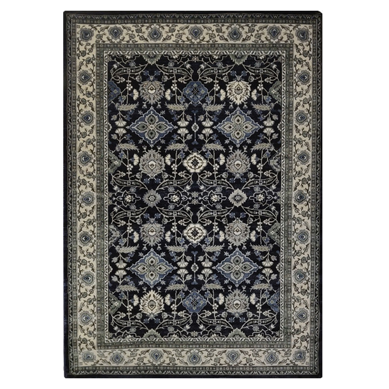 Verona 6256 Navy Rug sample