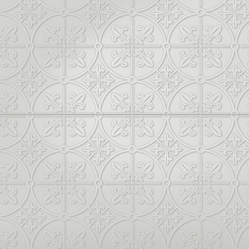 Infinity Brighton - Pressed Metal Design Tile sample