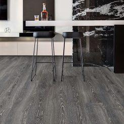 Highland Oak Black Laminate flooring