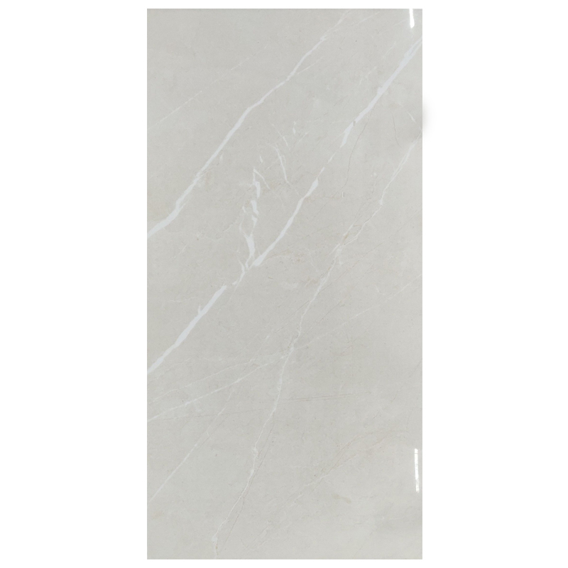 Silver Light White  Porcelain Tile sample