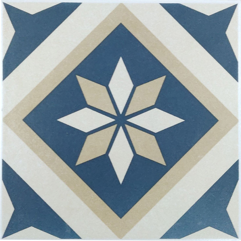 Oasis Celio Blue Feature Tile sample