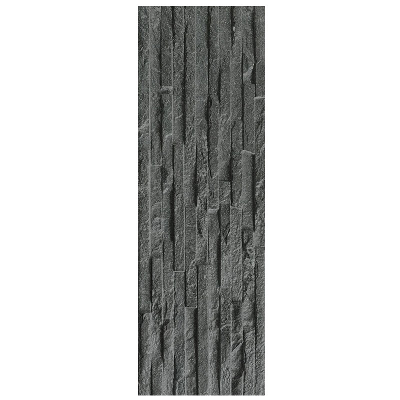 Centenar Black Feature Wall Tiles sample