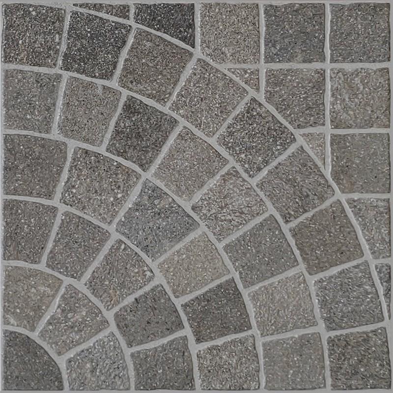 Aurelia Bruno Arco Porcelain Cobble Tile sample