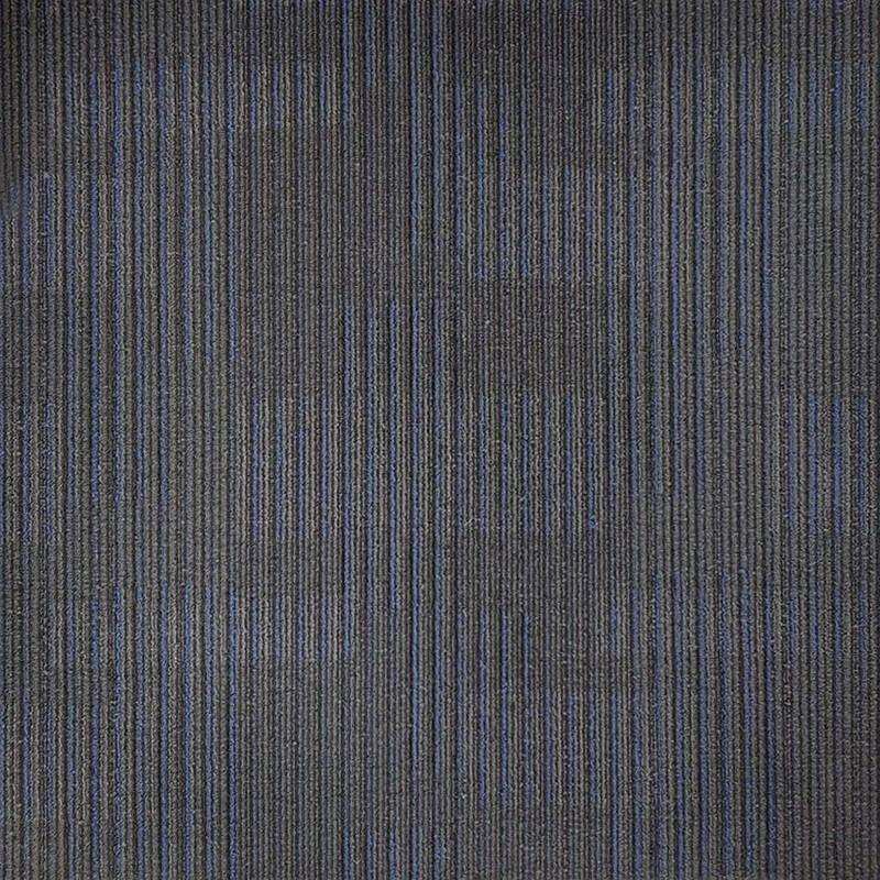 Arizona Blue On Black Carpet Tile sample