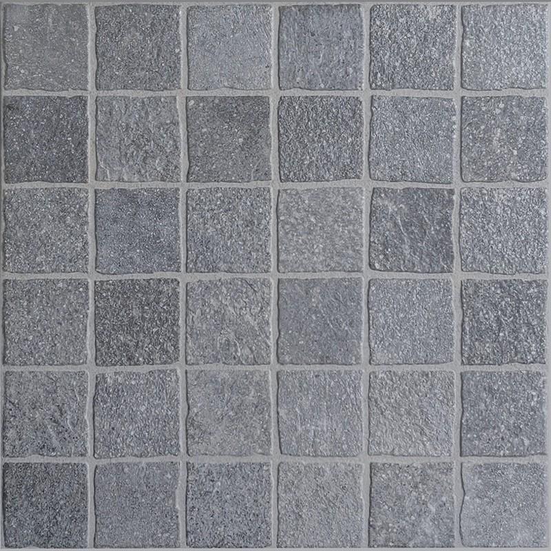 Aurelia Grigio Lineare Porcelain Cobble Tile sample