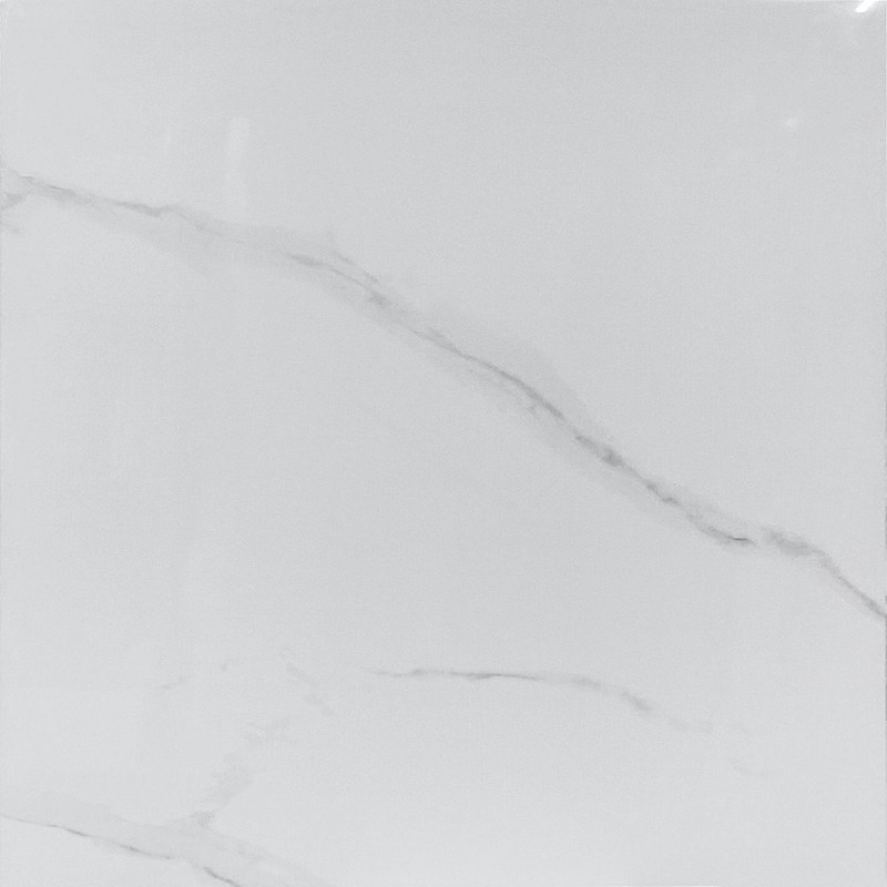 Grigio Statuario Polished Porcelain Tile sample