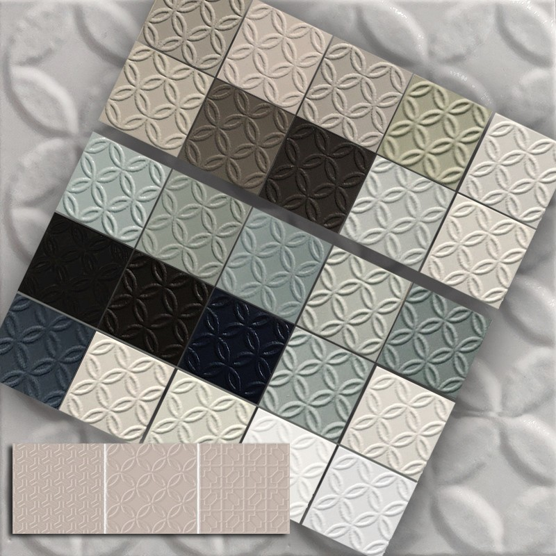 Trove Caravelle Squares Subway Tile sample