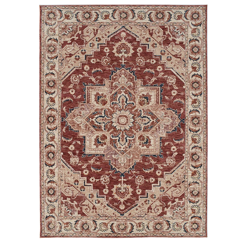 Fiano 7192 Red Rug sample