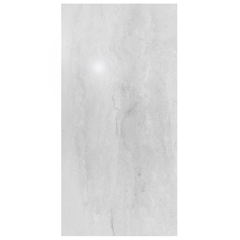 Travertine White Porcelain Tile sample