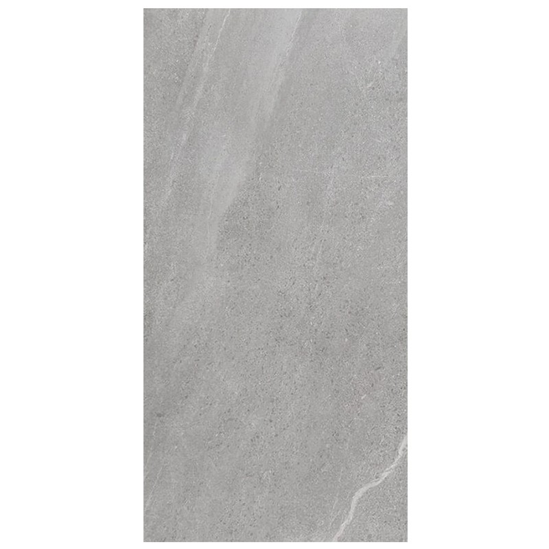 Chorus Silver Porcelain Tile sample