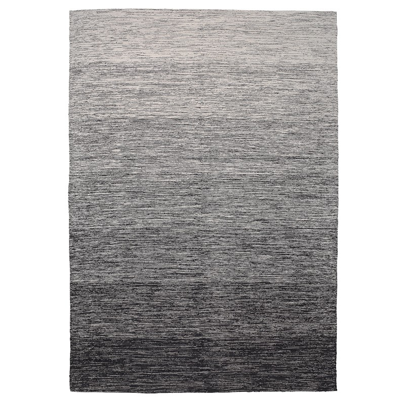 Oxford 305 Black-White Rug sample