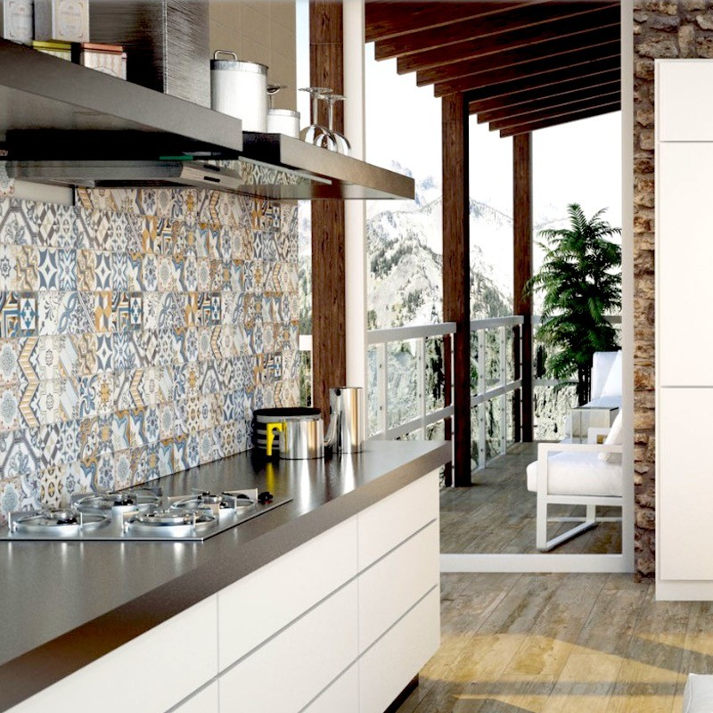 Bulevar Warm D 233 Cor Mixed Subway Tile Western Distributors